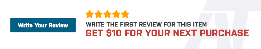 Be the first customer to write a review and get $5 off your next purchase!