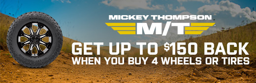 Mickey Thompson Tire and Wheel Rebate