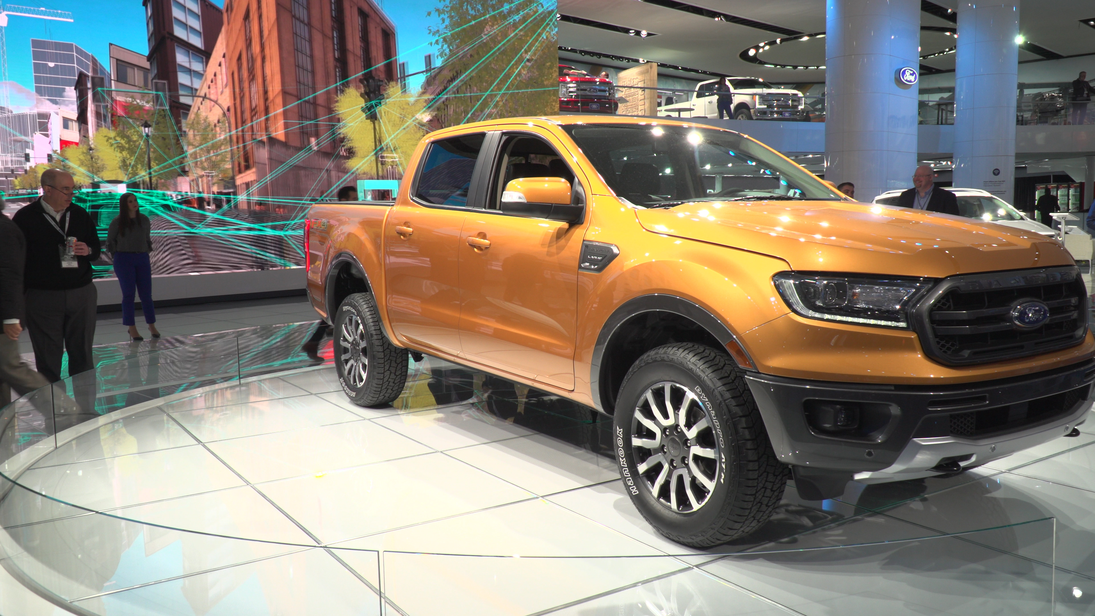 Reveal Of The 2019 Ford Ranger