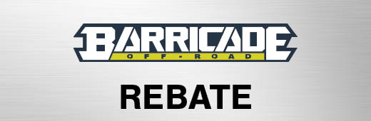 Barricade $50 Rebate Program