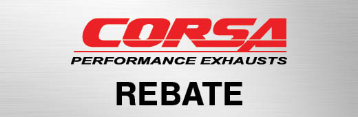 Corsa Exhaust, Intake, and Header Rebates